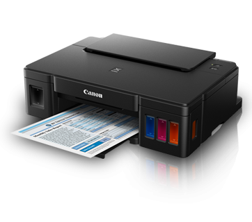 Reset Canon G1000 printer's Ink Pad at the end of it service life error
