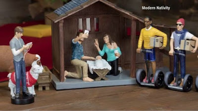 Christmas Hipster Nativity Scene flies off shelf