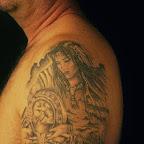 arm mountains - tattoo designs