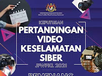 Pemenang Pertandingan Video Keselamatan Siber Peringkat JPWPKL 2021