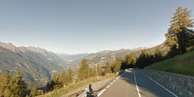 la Val d'Aosta vista dal Col du Joux