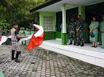 Tarian Kreasi Indonesia Jaya Sambut Kunker Dandim 0731/Klp di Koramil 08/Lendah