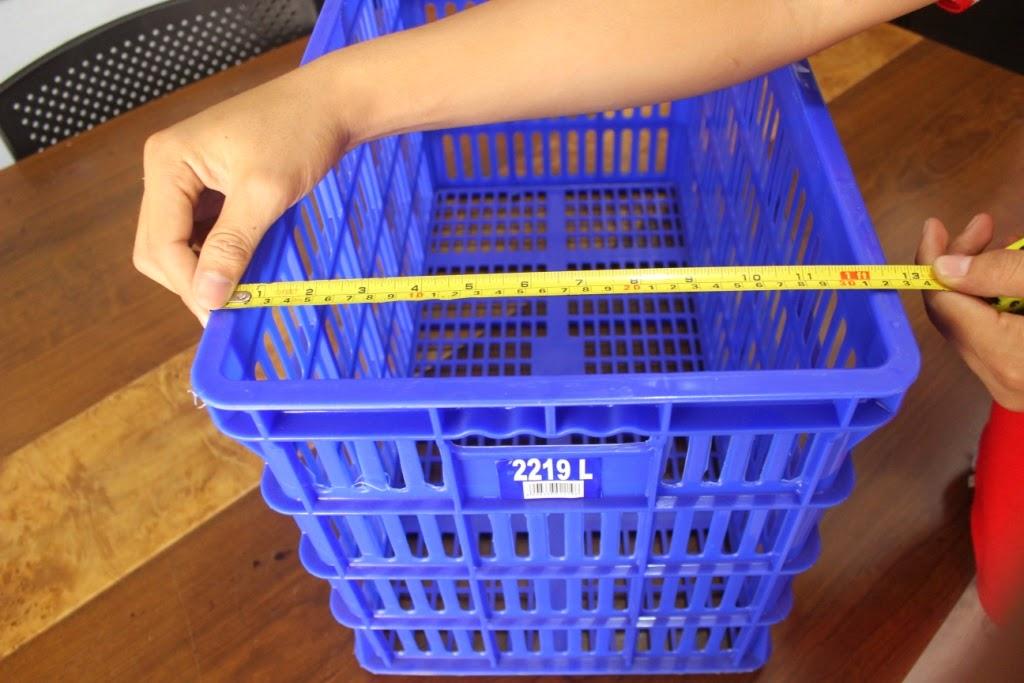 KERANJANG - KONTAINER PLASTIK PIRING Tipe 2219 L | www.rajarakminimarket.com | RAJA RAK INDONESIA | JAKARTA