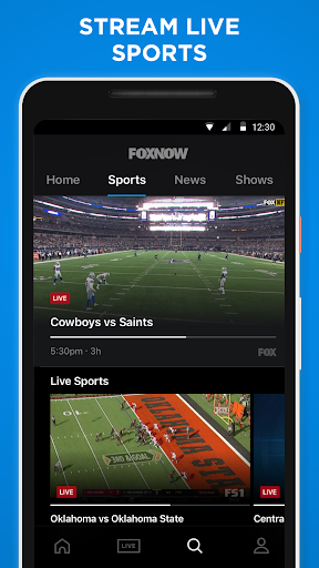 FOX NOW: Live & On Demand TV, Sports & Movies 3.9.2 screenshots 3