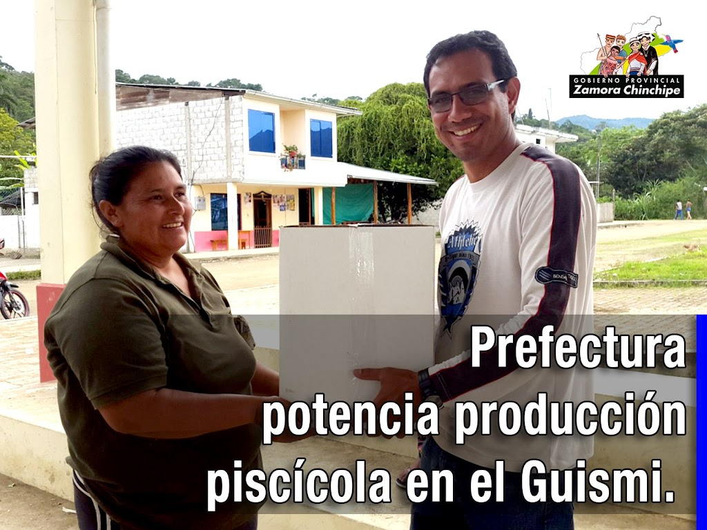 PREFECTURA POTENCIA PRODUCCIÓN PISCÍCOLA EN EL GUISMI