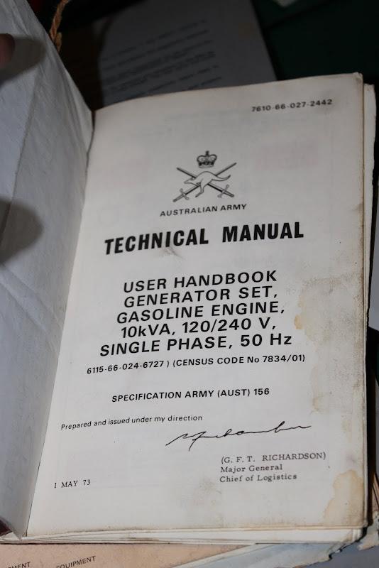 Aussieveedubbers - General Chit Chat - AUST ARMY VW 240v AC