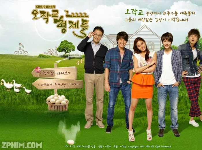 Ảnh trong phim Quý Tử Nhà Nông - Ojakgyo Family 1