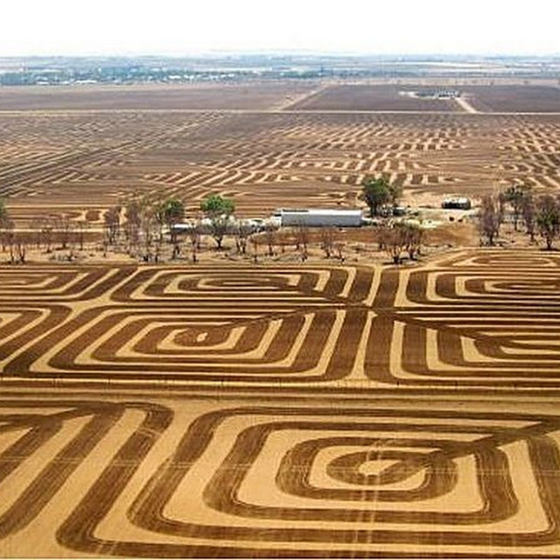 Australian Farmer Fights Soil Erosion With Land Art