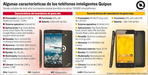 Bolivia ingresará al mercado con smartphones de $us 85 a $us 200