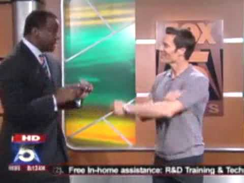 Tony Horton On Fox Atlanta 2009, Tony Horton
