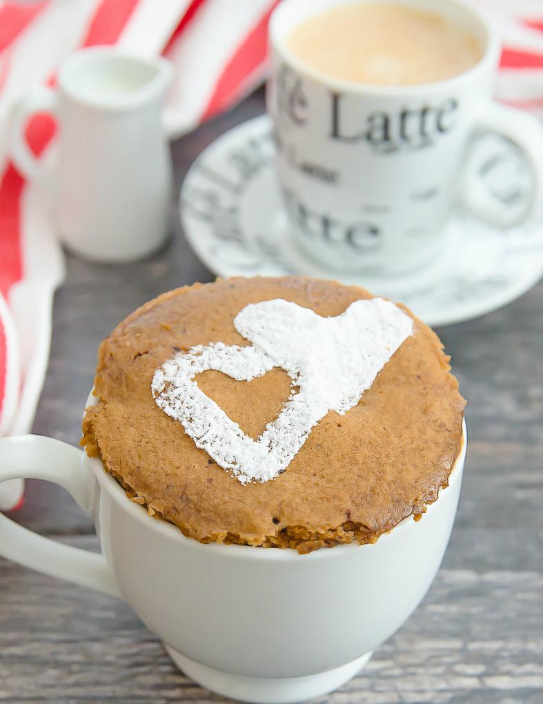 Caffè Latte Mug Cake