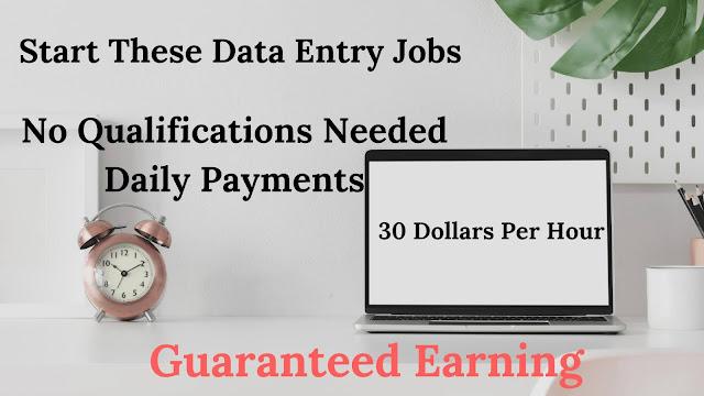 Data Entry Jobs Online