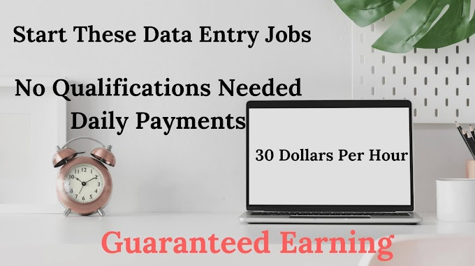 Get 7 Best Work-From Home Online Data Entry Jobs