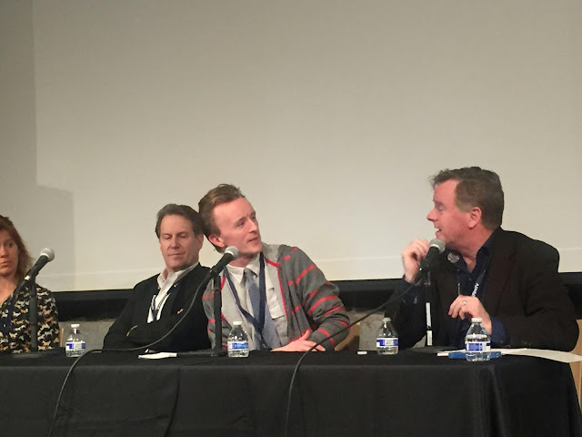Actor Paul Cram and Patrick Coyle at MSPIFF Panel Discussion