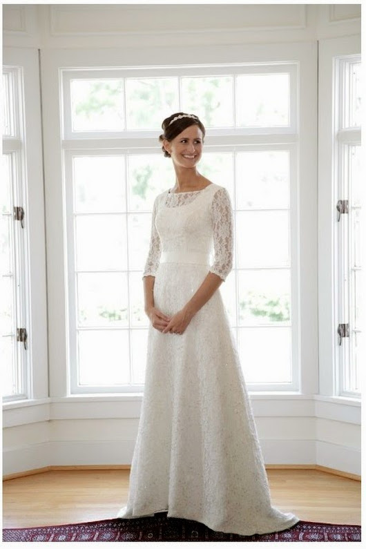 Modest Long Sleeve Wedding Dress 49 Marvelous Photo