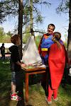 Superman má dobrou náladu