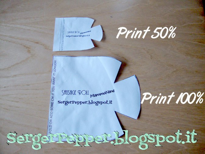Serger Pepper - Pressing Tools DIY - Sleeve roll any sizes