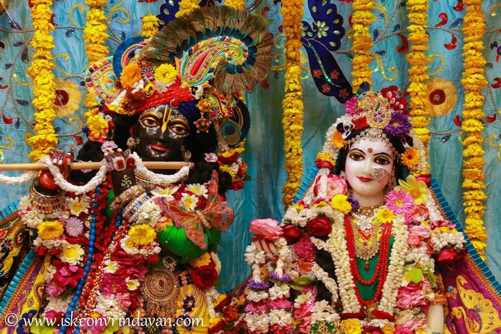 ISKCON Vrindavan Sringar Deity Darshan 28 Feb 2016 (4)