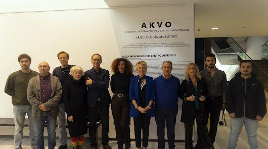 Nueve artistas ejecutan sus obras en directo en el Arqueológico