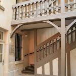 Musée Claude Debussy : escalier