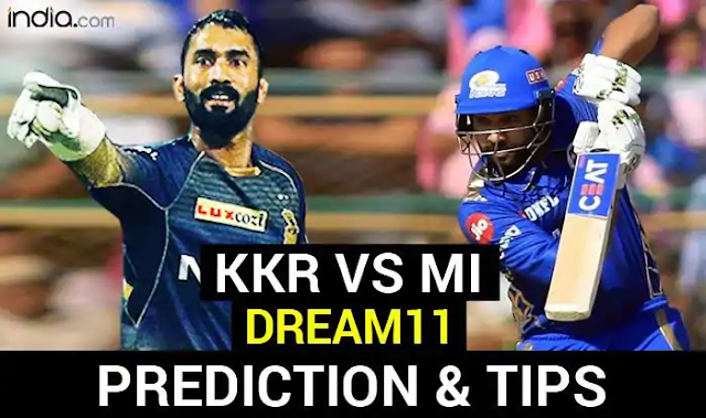 KKR vs MI Dream11 Team Hints And Predictions, Captain And Vice-Captain, Fantasy Cricket IPL 2020: Kolkata Knight Riders vs Mumbai Indians, Match 5 Sheikh Zayed Stadium, Abu Dhabi at 7:30 PM IST Wednesday September 23