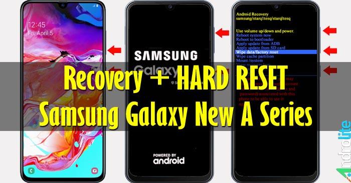 Recovery + Cara Hard Reset Samsung A10, A20, A30, A40, A50, A60, A70, A80