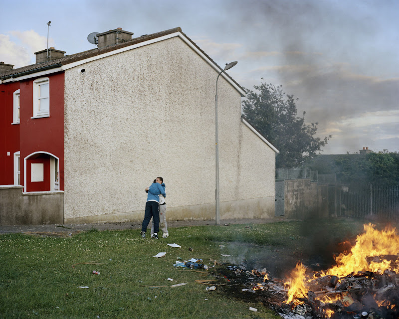 Bonfire I, Russell Heights, 2011, by Doug DuBois