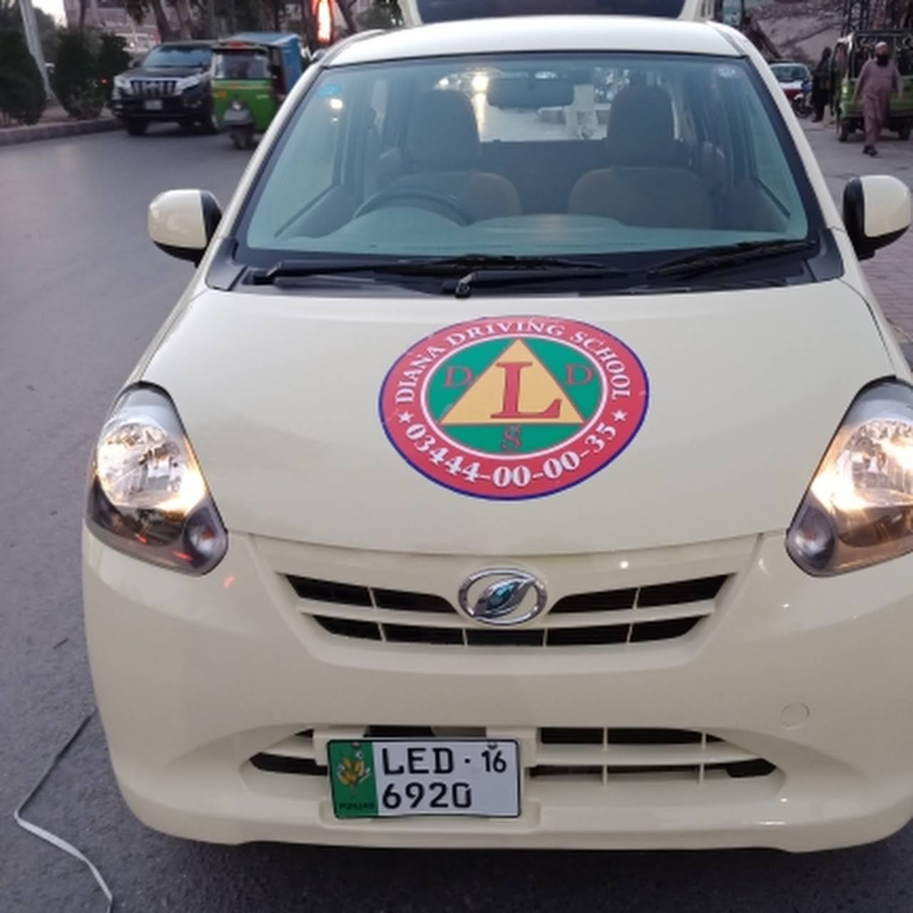Diana Driving School- The best school of Lahore - Driving