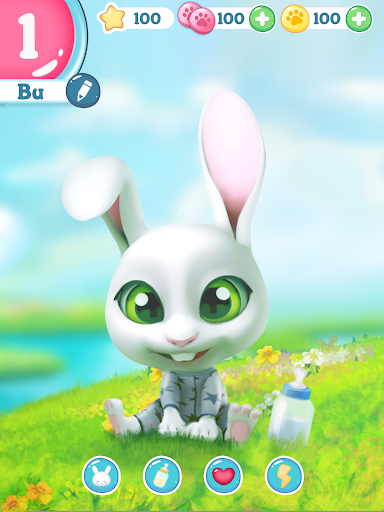 Bu the virtual Bunny - Cute pet care game 2.7 screenshots 17