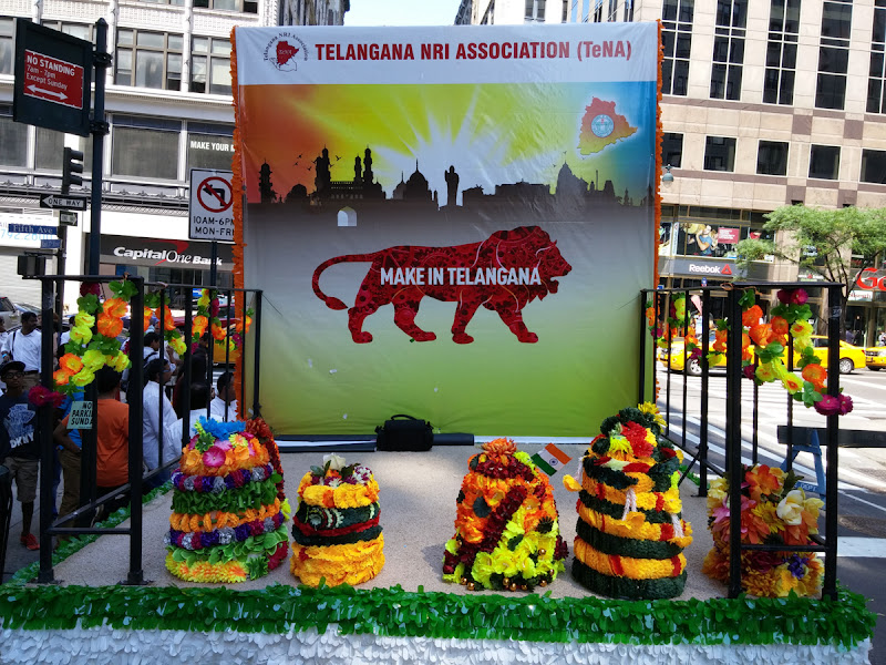 Telangana State Float at India Day Parade NY 2015 - 20150816_120441.jpg
