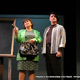 """Susan Katz and Marty O'Connor in """"Degas, C'est Moi"""" as part of THE IVES HAVE IT - January/February 2012.  Property of The Schenectady Civic Players Theater Archive."""