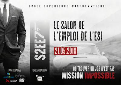 Inscription Salon de l\'emploi de l\'ESI - S2EE7