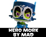 Hero Mork Vinyl Figure by MAD