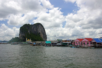 Photo: Koh Panyee, village on the sea