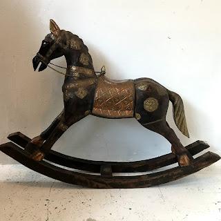 Byzantine Style Rocking Horse