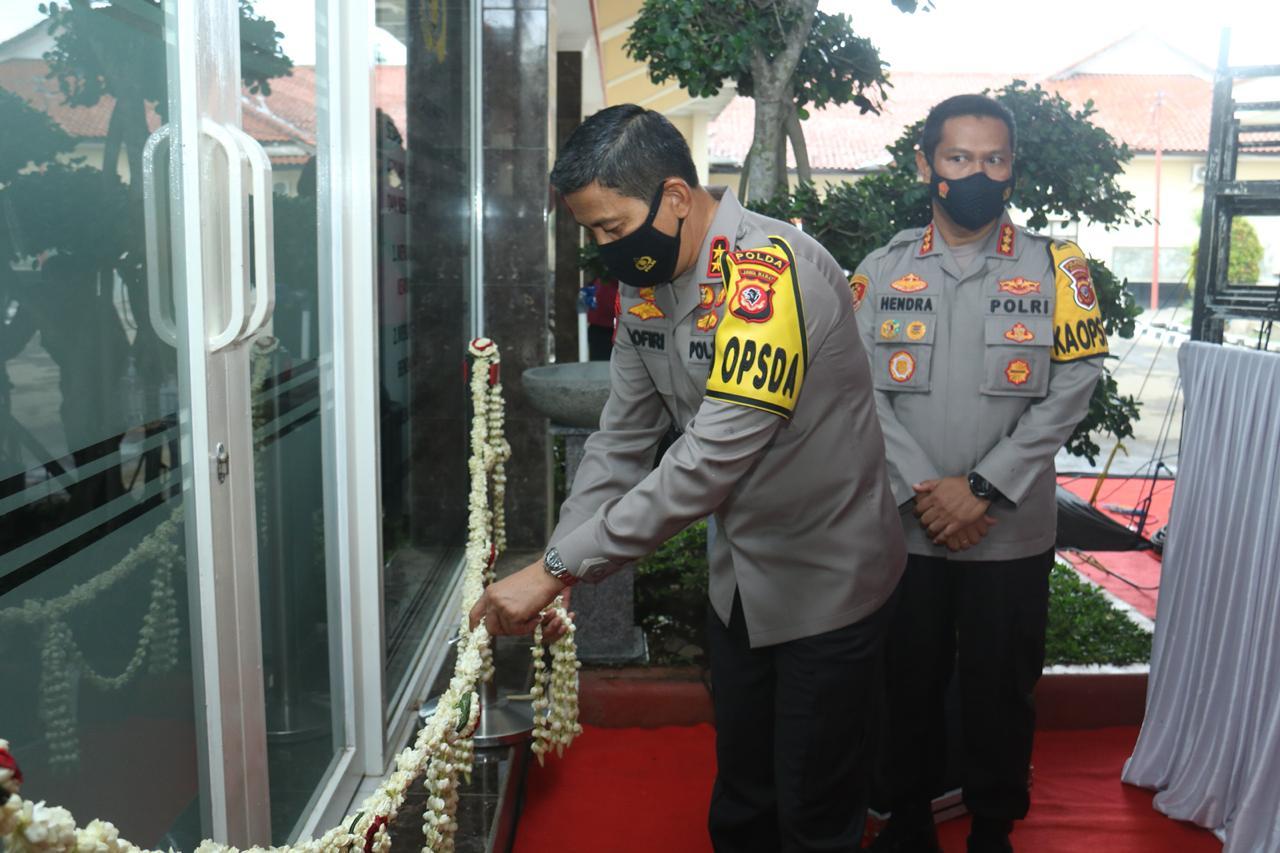 Kapolda Jabar Resmikan Gedung 96 di Polresta Bandung