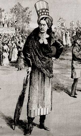 Image result for susan b. anthony voting