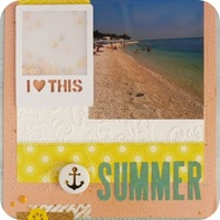 26 - sizzix big shot - scrapbookig layout - fustelle