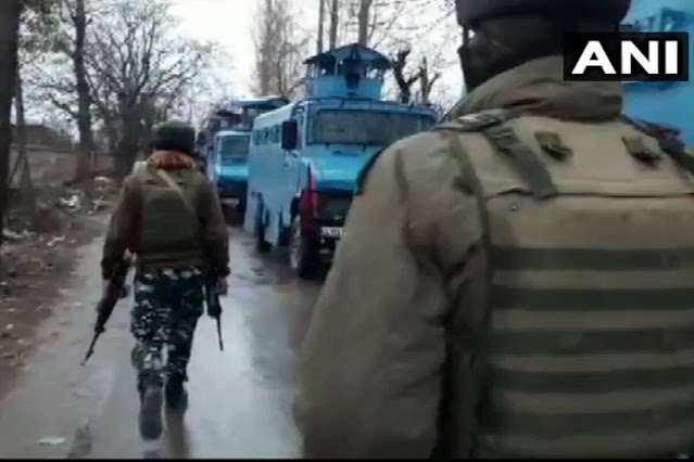 Encounter in Jammu and Kashmir's Shopian, four Militants Killed