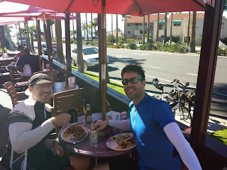 Lunch in Carlsbad.