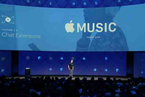 Soon You Will Be Able To Listen To Music Directly From Facebook Messenger App Without Leaving the App