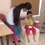 Eye Check-up of Nursery Morning Section at Witty World, Chikoowadi (2018-19)