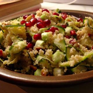 Mediterranean Zucchini Ribbon Salad.
