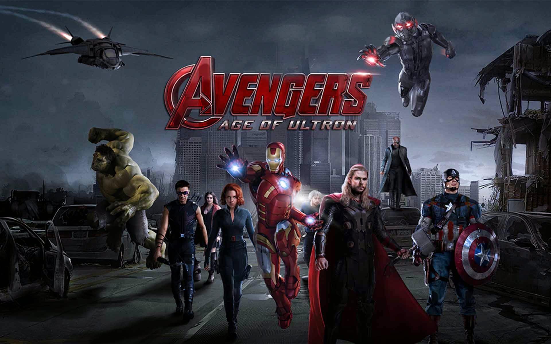 Οι Εκδικητές: Η Εποχή του Ultron (Avengers: Age of Ultron) Wallpaper