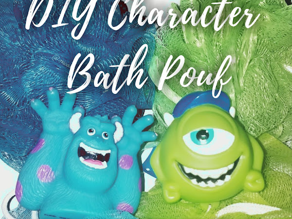 DIY Character Bath Pouf Hack