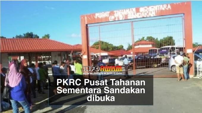 PKRC Pusat Tahanan Sementara Sandakan dibuka