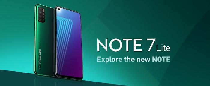 Infinix Note 7 Lite Maroc