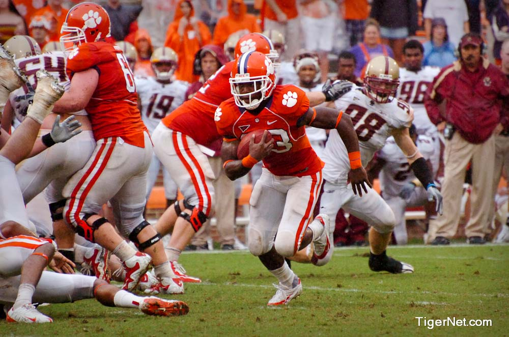Clemson vs. Boston College Photos - 2009, Andre Ellington, Boston College, Football