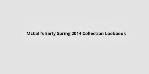 McCall Pattern Lookbook Picks !!