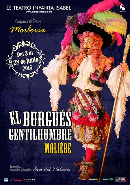 El Burgués Gentilhombre, de Moliére, en el Teatro Infanta Isabel